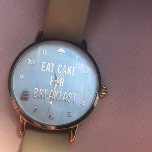 Kate Spade Eat Cake For Breakfast Watch 🎂